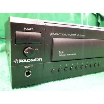 RADMOR CD D 5552 Odtwarzacz kompakt Unikat