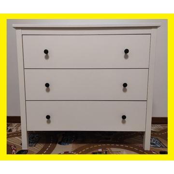 IKEA KOPPANG Komoda 3 szuflady Biały