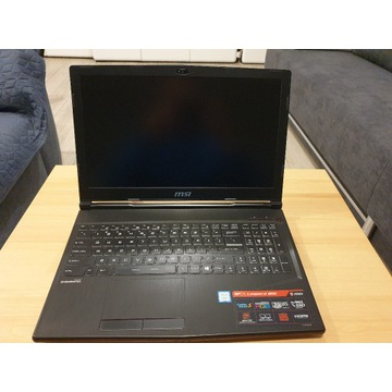 MSI GP63 GTX 1060 6GB/16GB RAM/768GB SSD + 1TB HDD