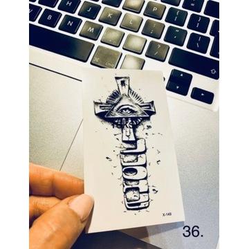 Tatuaż wodoodporny tymczasowy nr. 36