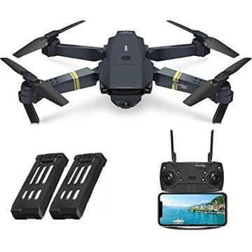 Dron EACHINE E58 kamera + 2 baterie składany z PL