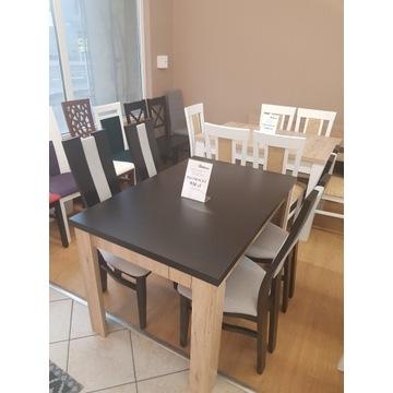 Klasyczny stół + 4 eleganckie krzesła SUPER OFERTA