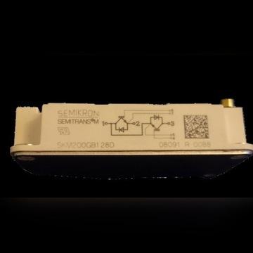 SKM200GB128D mmoduł IGBT Semikron