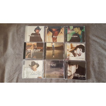 Tim McGraw - 9 CDs