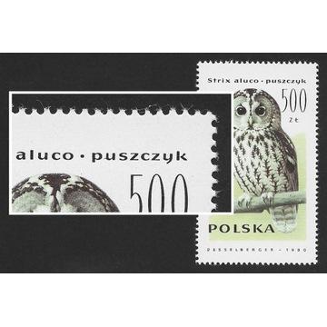 1990r. Seria znaczków Fi. 3146 - 3151 **. USTERKA.