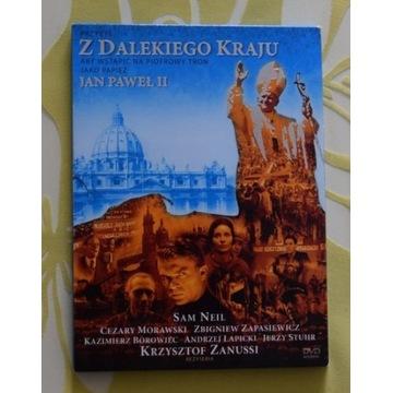 """DVD """"Z dalekiego kraju"""" Papież Jan Paweł II"""