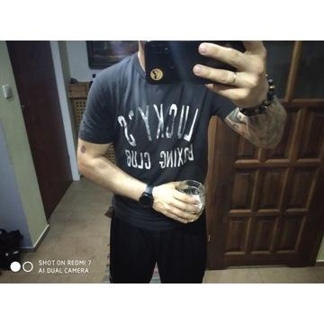 Koszulka Lucky Brand męska M Boxing team usa Nowa