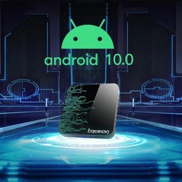 TV Smart BOX  Android 10  z klaw. i pilotem Google