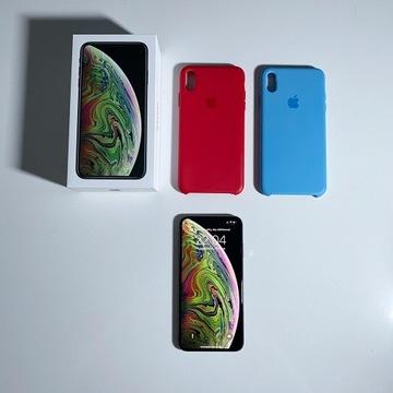 iPhone XS Max 64GB - 100% sprawny +2 obud. - ŁÓDŹ