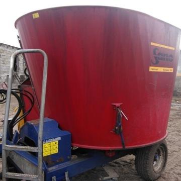 Wóz paszowy SANO 8 m3 siloking mayer ( nie kuhn )
