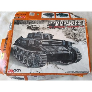 Czołg Flammpanzer II ALAN 010 (1:35)