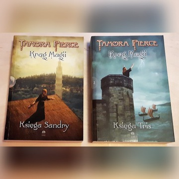 Tamora Pierce - Księga Tris i Księga Sandry