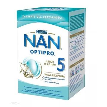 NESTLE NAN OPTIPRO 5 mleko modyfikowane 6x800 g