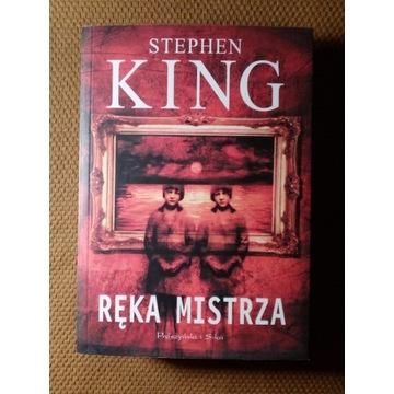 Ręka mistrza Stephen King NOWA 2011