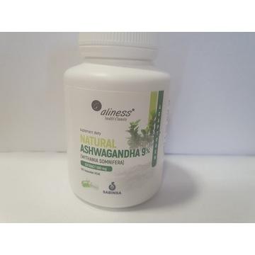 ALINESS Natural Ashwagandha 590 mg 9% - 100 kapsuł
