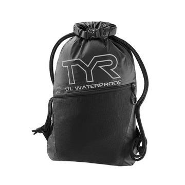 Worek dla pływaka TYR - worek pływacki - czarny