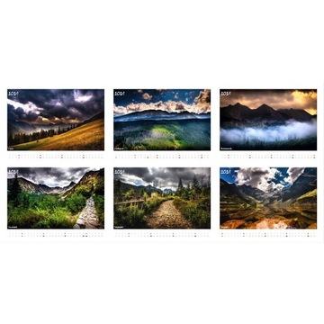 Kalendarz A3 Góry Tatry - 2021 - PHOTOMORGANA.PL