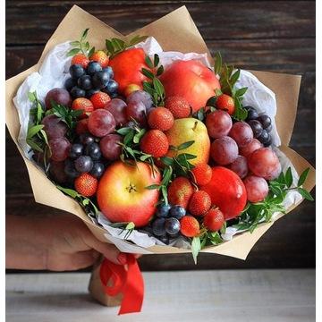 Bukiet z owoców na imieniny, urodziny, dzień matki