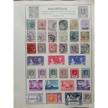 GB - kolonie angielskie- Mauritius