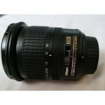 Nikkor 10-24mm f3.5-4-5G ED