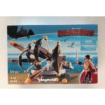 Playmobil Dragons 9249 Eret z ognistymi strzałami
