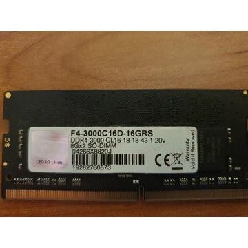 G.Skill Ripjaws SODIMM DDR4 8GB 3000Mhz CL16