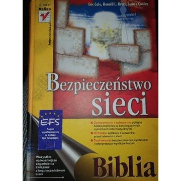 Książka Bezpieczeństwo sieci Biblia Helion