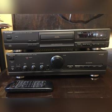 Technics CD  SL PG380A + wzmacniacz SU V500 .