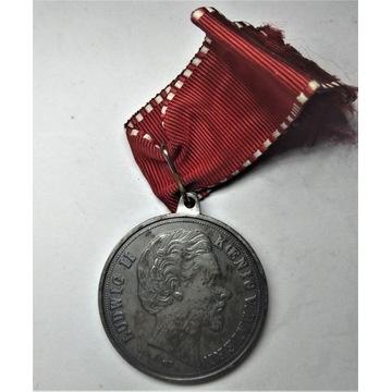 Medal Ludwig II Bayern Niemcy