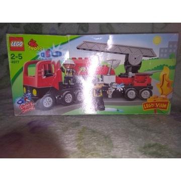 Lego Duplo 4977 straż pożarna