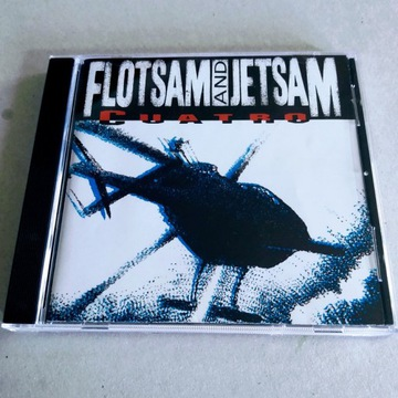 """FLOTSAM and JETSAM - """"Quatro"""" CD"""