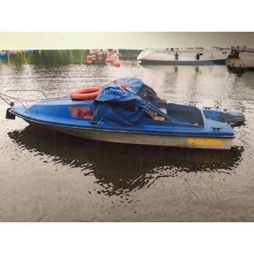 Łódka wędkarsko-turyst z kabiną + silnik