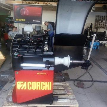 Wyważarka corghi em8370 full automat okazja
