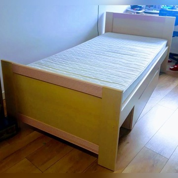 Łóżko 1os. 205x100x60cm