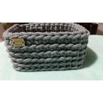 Koszyczki ze sznurka bawełnianego handmade