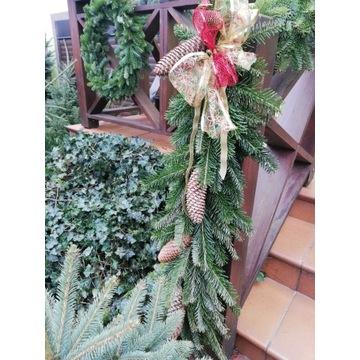 gałęzie jodły na stroiki ozdoby wianki 2,50 szt