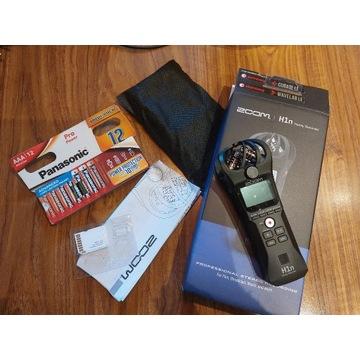 Dyktafon Zoom h1n ZESTAW z SD 2G + baterie