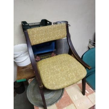 Krzesła skoczki PRL 4 szt