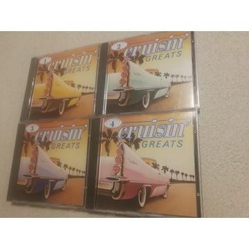 Kolekcja 4 płyt CD - CRUISIN' GREATS