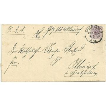 Gryfów Śląski ( Greiffenberg) 1885r