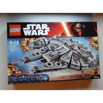 LEGO 75105 Star Wars Sokół Millenium NOWY UNIKAT