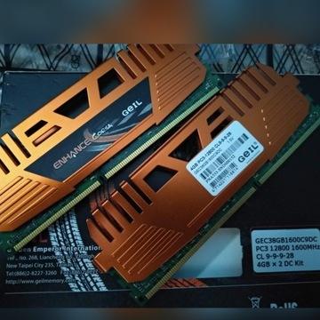 GEIL DDR3 2x4GB 1600MHz 9-9-9-28