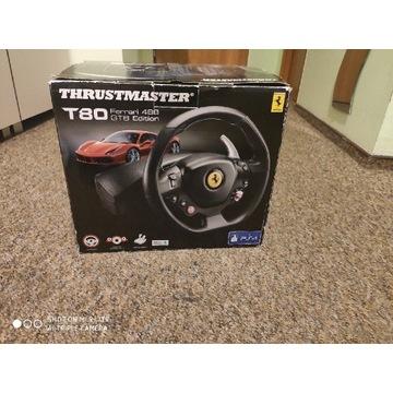 Kierownica i pedały Thrustmaster T80 Ferrari