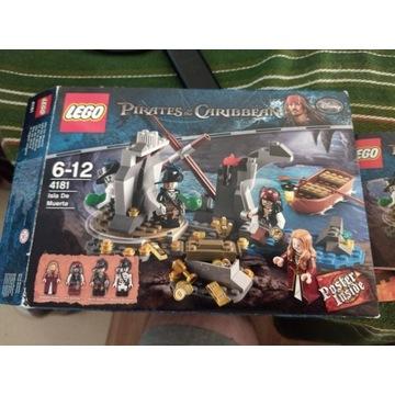 LEGO Piraci z Karaibów 4181 - Wyspa umarłych