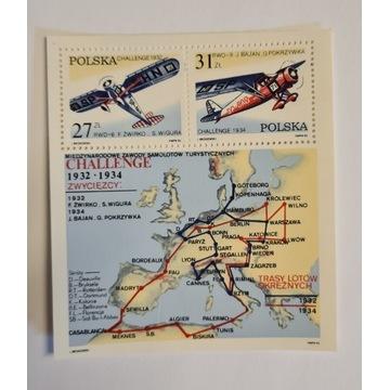 Blok 117** 50-lecie zwycięstwa polskich lotników