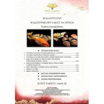 CATERING WALENTYNKOWY - SUSHI