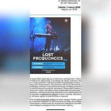 Bilet na koncert Lost Frequencies Warszawa 07.03