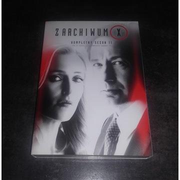 Z Archiwum X Sezon 11 DVD Lektor PL