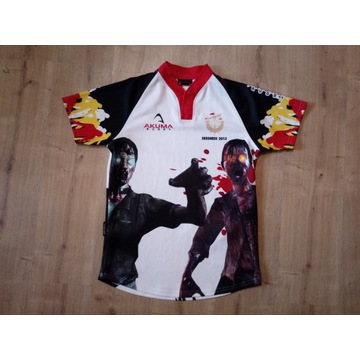 Akuma Rugby Skegness 2013 koszulka zombi r. M
