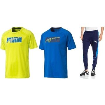 Komplet Puma Evostripe: spodnie + 2 koszulki | S